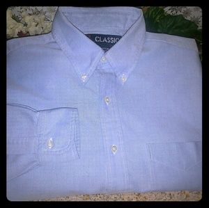Other - CLASSIC BLUE COTTON SHIRT